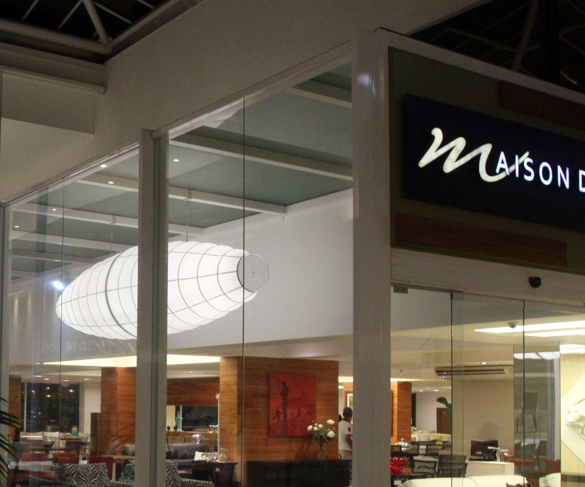 Luminária pendente e plafon em tela Tensoflex – Loja Maison Design