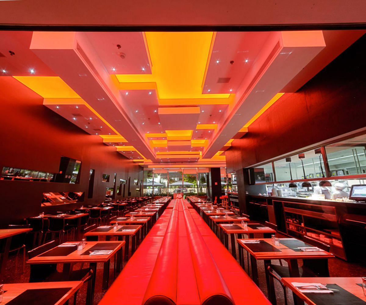 Telas tensionadas translúcidas – Restaurante Spot