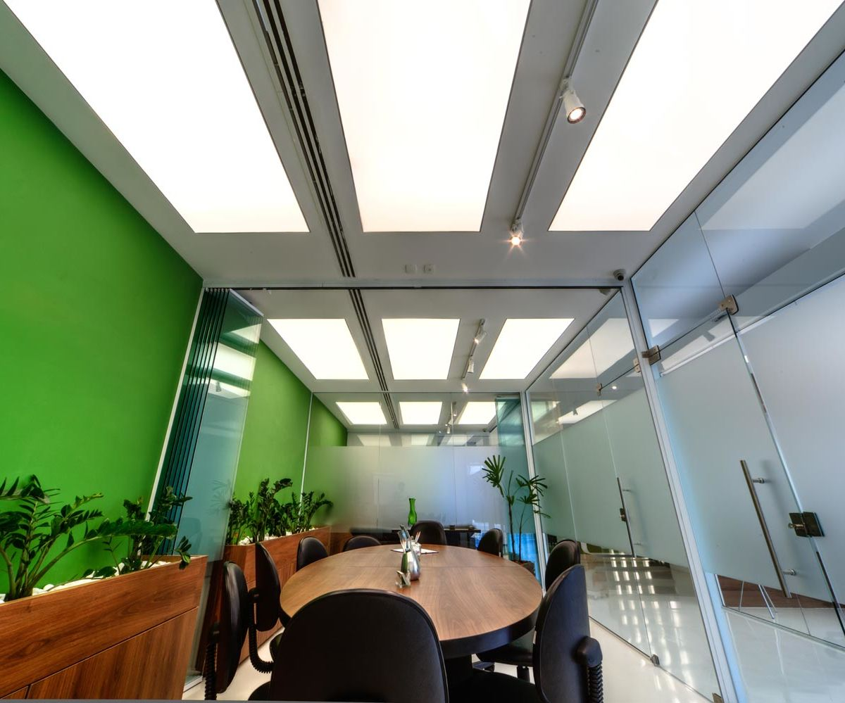 Strech ceiling fixtures Sevilha corporate